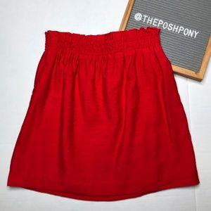 J. Crew Factory Crinkle City Mini Skirt